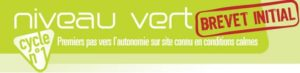 niveau vert parapente brevet initial